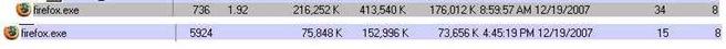Firefox 2 vs 3b2