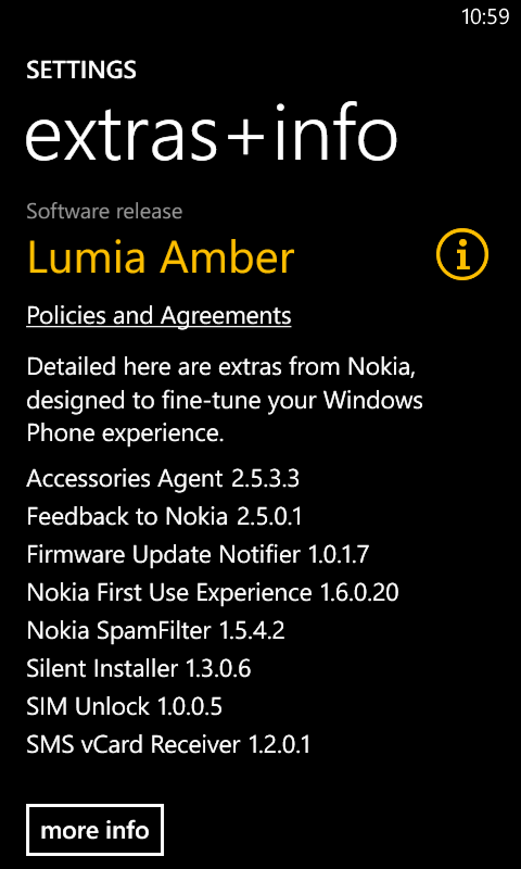 Amber (GDR2) update on the Nokia Lumia 720: First impressions (1/4)