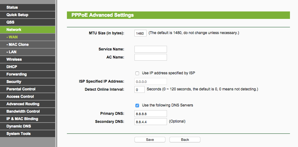 Troubleshooting site loading times on BSNL broadband – AB's
